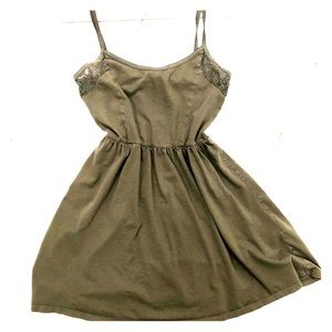 Olive green sundress ☀️👗 or cover-up